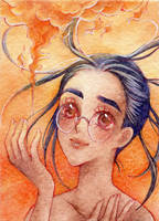 ACEO #42 ~ Fire by Vanilla-Mai