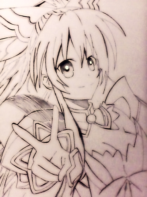 Tohka (Date Alive) fan art by johnlloydbalucanag