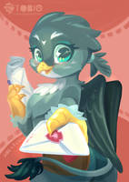 Gabby deliver a letters by B-TOBIO