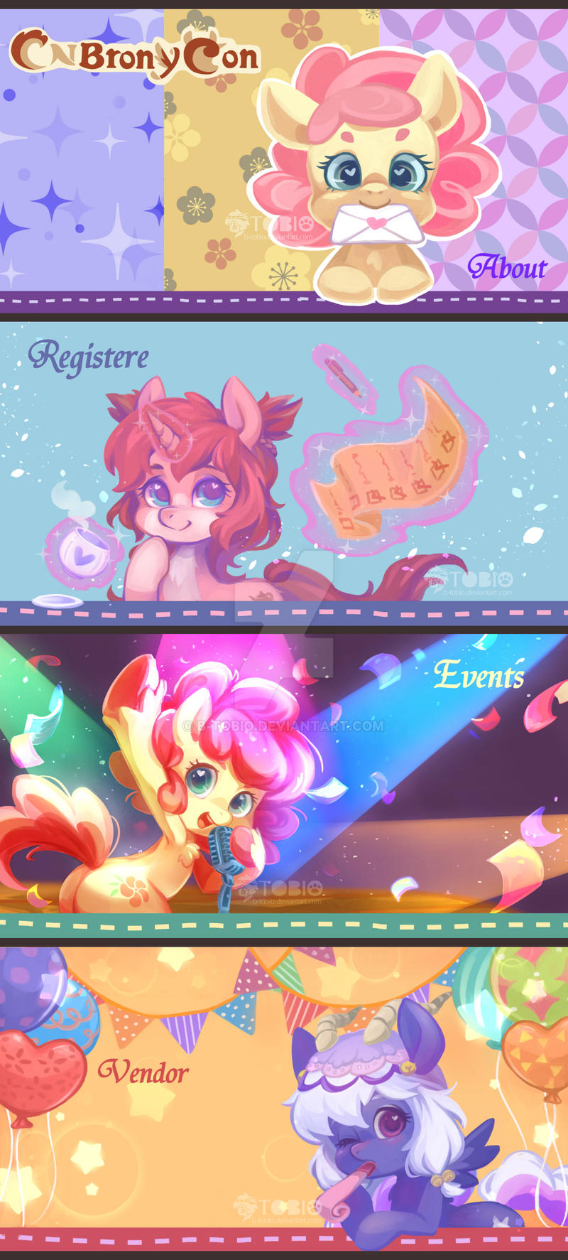 [CNBY2017/ PONY] Banner+LOGO by B-TOBIO on DeviantArt