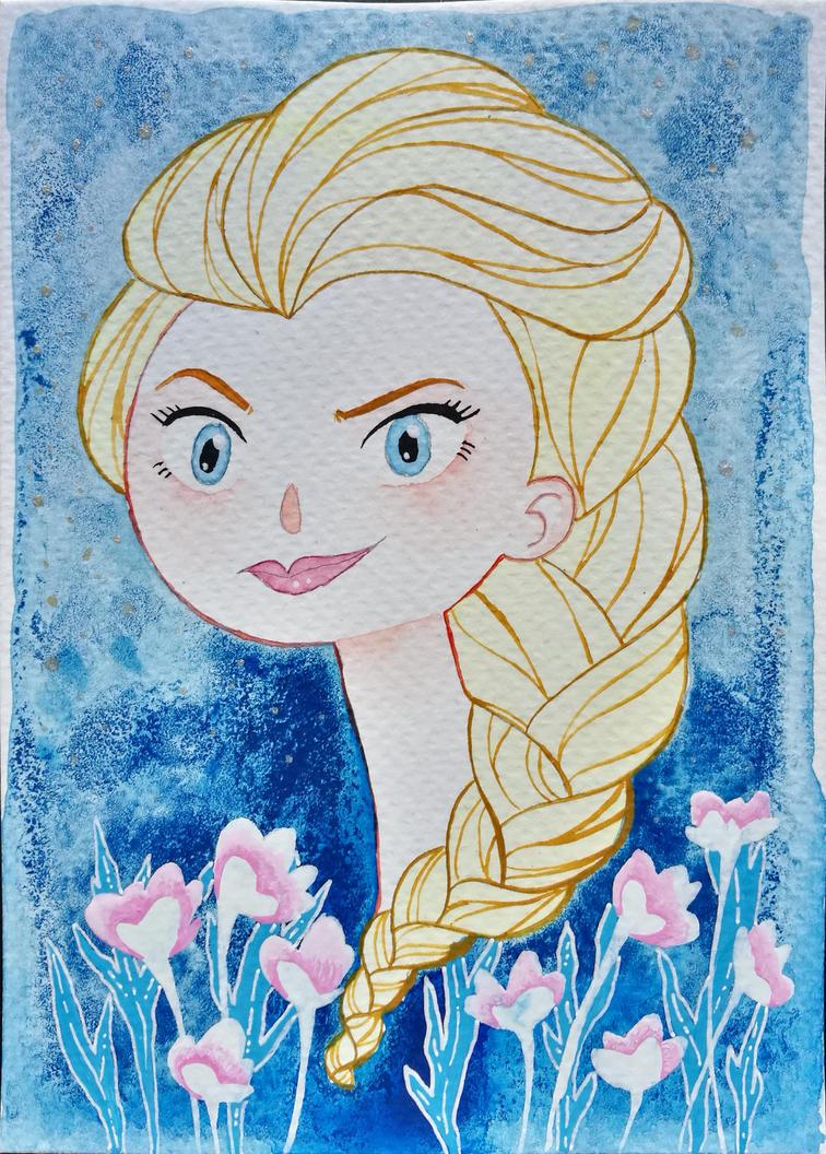 Elsa by DeerMee