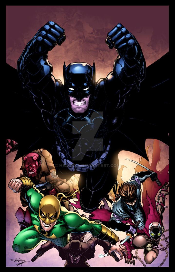 Batman and Friends by HeagSta