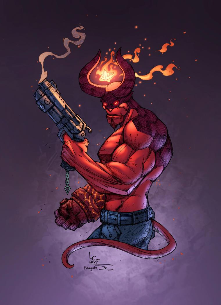 Hellboy by HeagSta