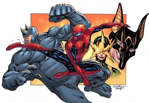 Spider-Man vs Baddies