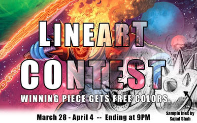 Drawing contest-Free Pro colors for winner