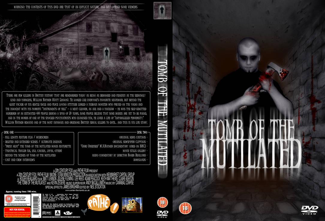 Tomb of the Mutilated DVD by immortal666 on DeviantArt