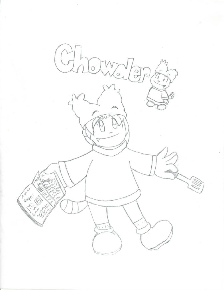 chowder cartoon coloring pages - photo#23