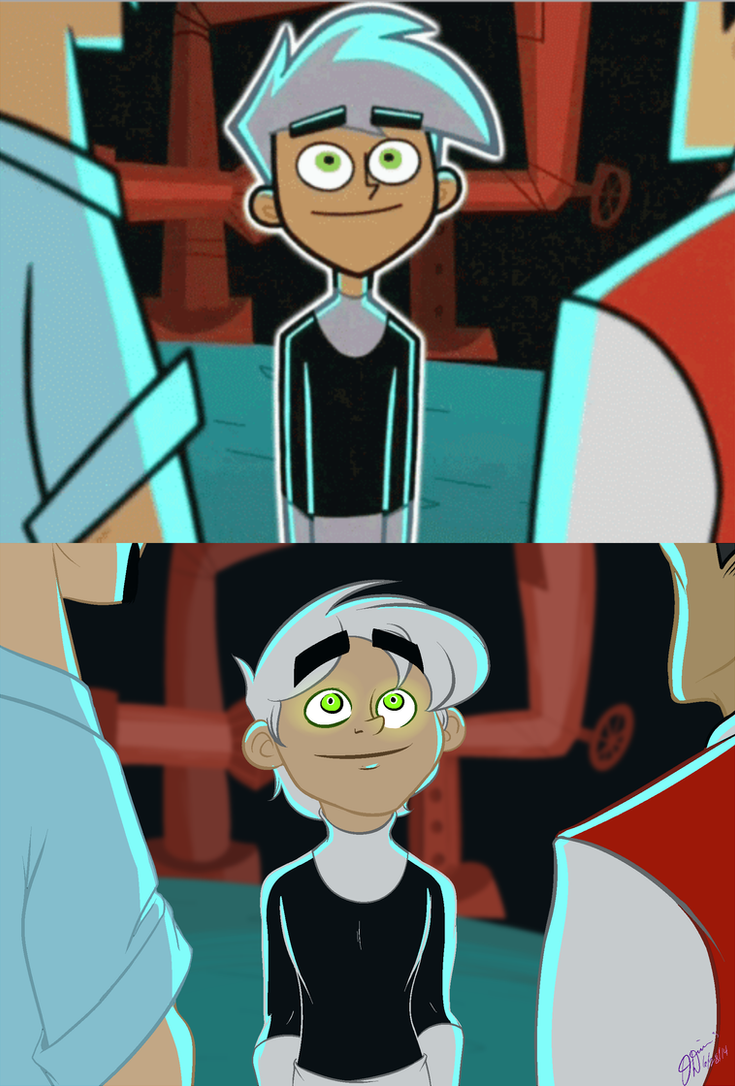 Screencap Redraw - Danny Phantom (Public Enemies) by AllHailWeegee