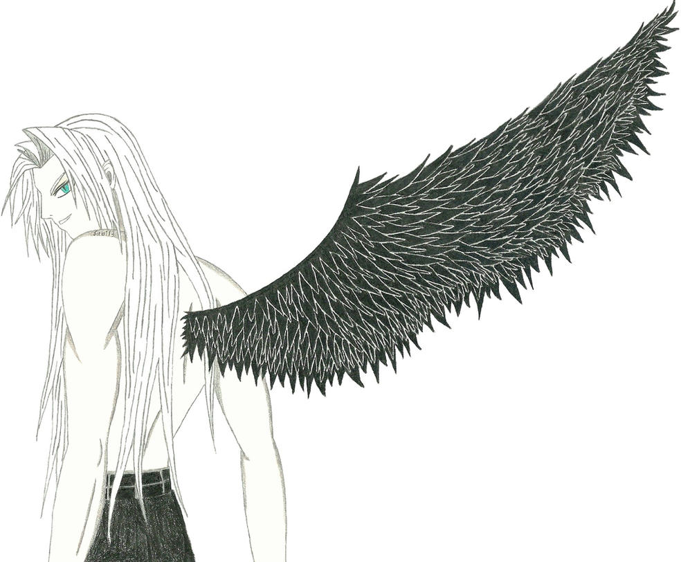 One Winged Angel by Sabi13