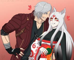 Long Time No See, Babe - Danterasu by Sabi-Cat-13