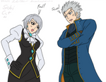 Vergil and Franziska - COMMISSION by Sabi-Cat-13