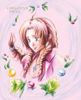 Aerith Final Fantasy VII by Carlotus