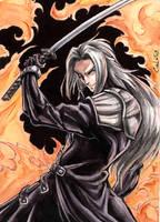 Sephiroth by Carlotus
