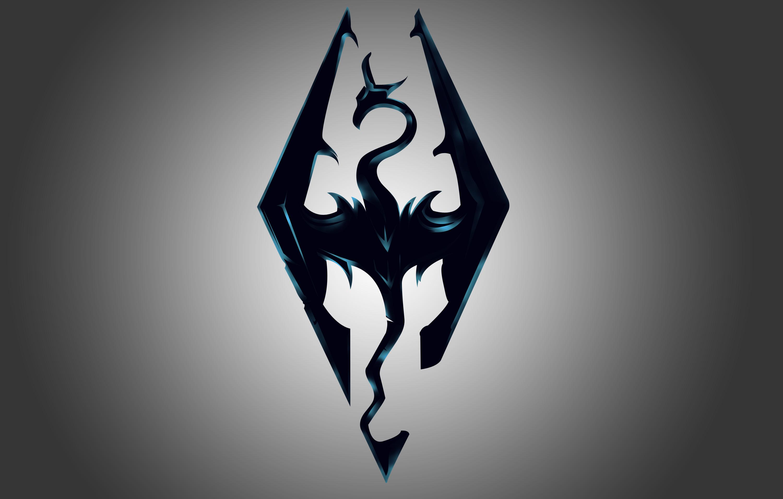 Skyrim Logo Vector Hd By Alihashymi On Deviantart