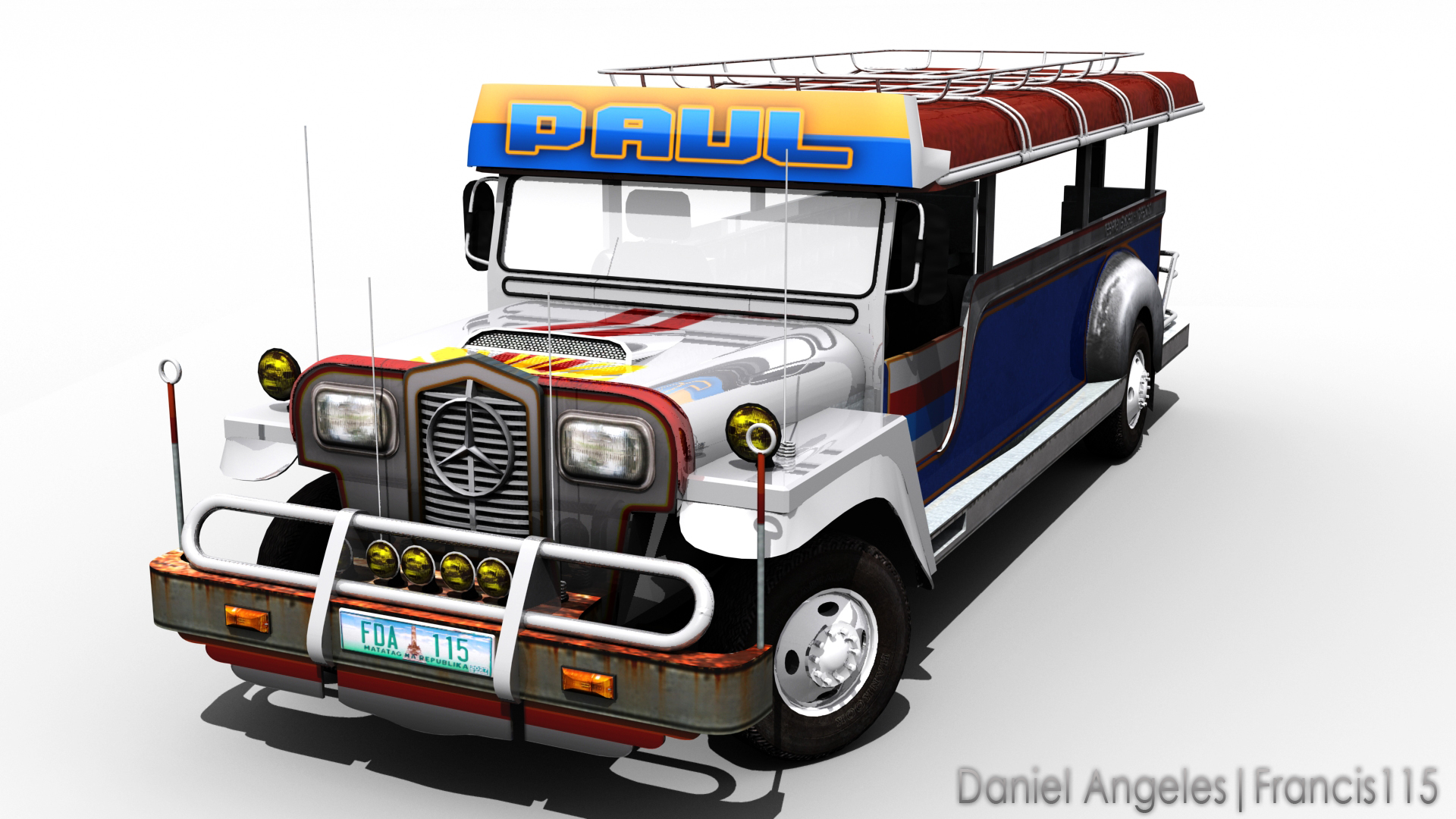 3d Cg Jeepney By Francis115 On Deviantart