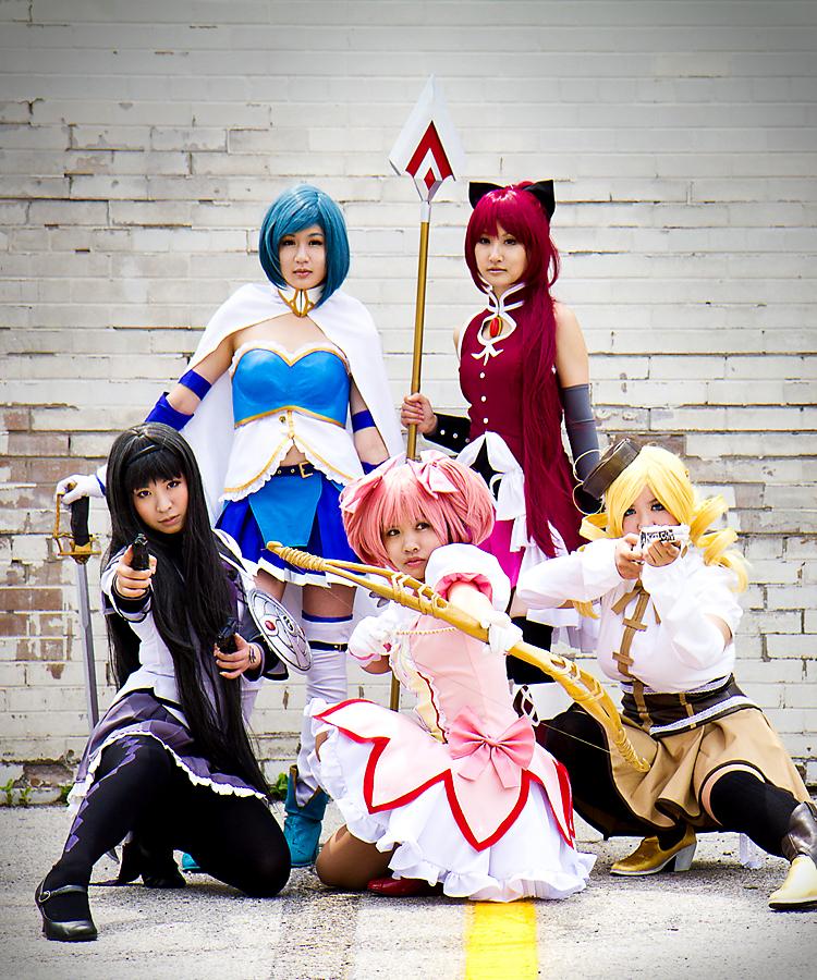 Magical Girls. Assemble. by Yume-ka
