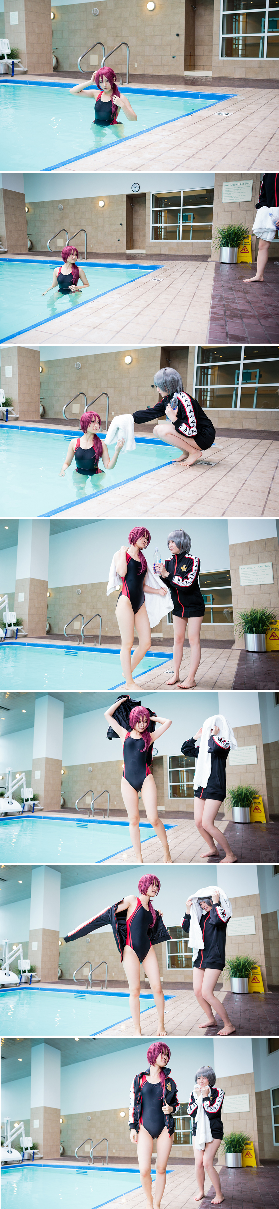 Practice - Rin and Nitori by Yume-ka