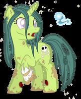 Willow Wisp (Zombie Pony) by Shoujo-Jojo