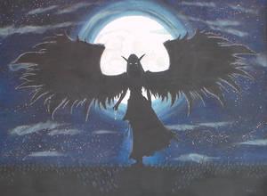 Narisiel, the Night Sky (Silouette)