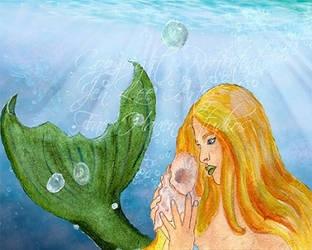 Dreaming of Sunlit Tides by JenLeeArt
