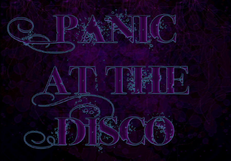 Panic at the Disco background by WolvenZhael