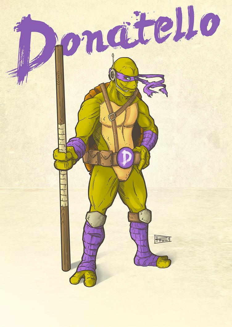 Donatello by RHOM13