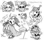 DELTARUNE - Jevil - Doodles