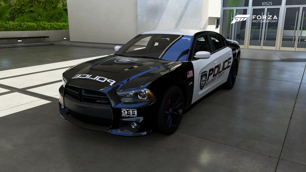 Scpd 2012 Dodge Charger Srt8 Front By Xboxgamer969 On Deviantart