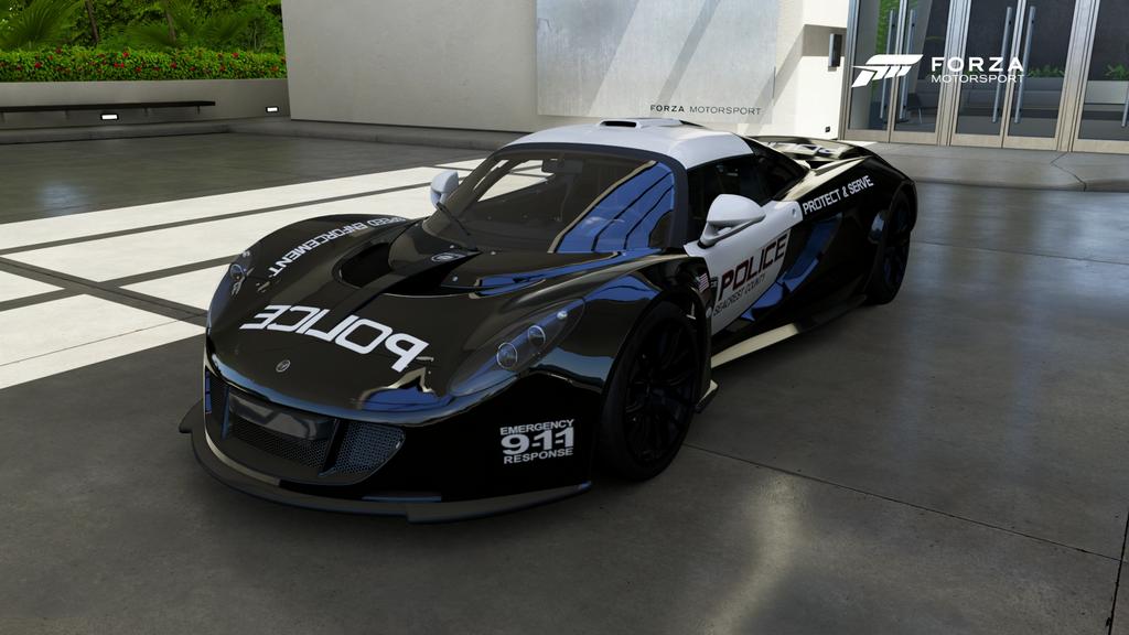 SCPD - 2012 Hennessey Venom GT - Front by xboxgamer969 on DeviantArt