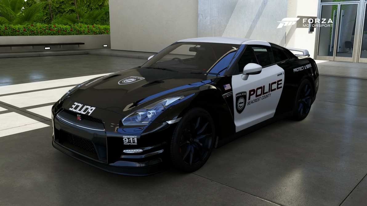 SCPD   2012 Nissan GT R Black Edition   Front By Xboxgamer969 ...