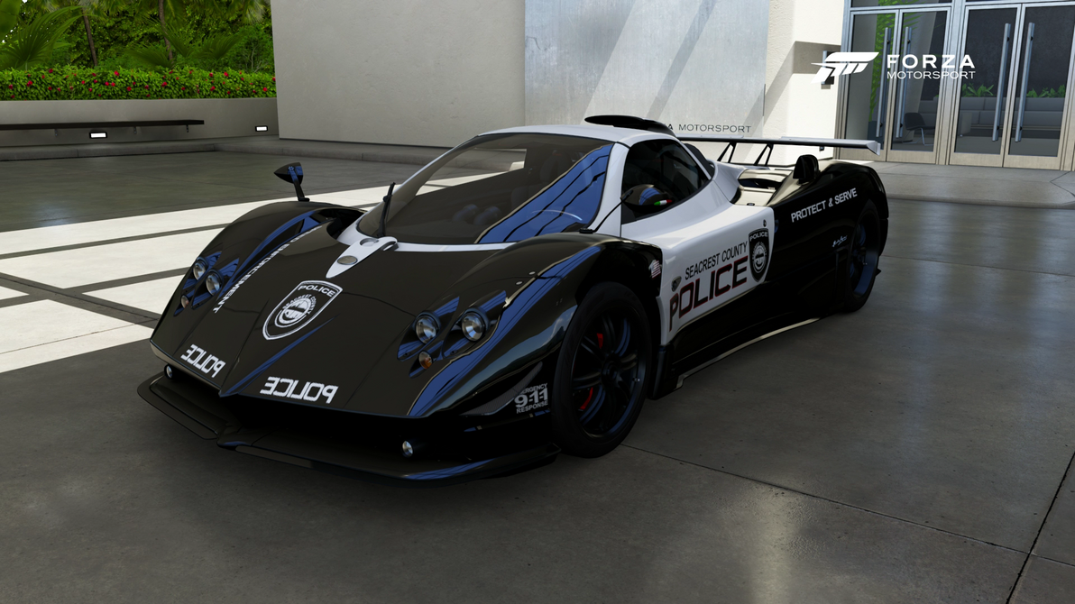 SCPD - 2009 Pagani Zonda Cinque Roadster - Front by xboxgamer969 on