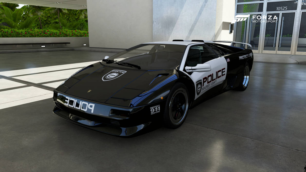 Scpd 1997 Lamborghini Diablo Sv Front By Xboxgamer969 On Deviantart