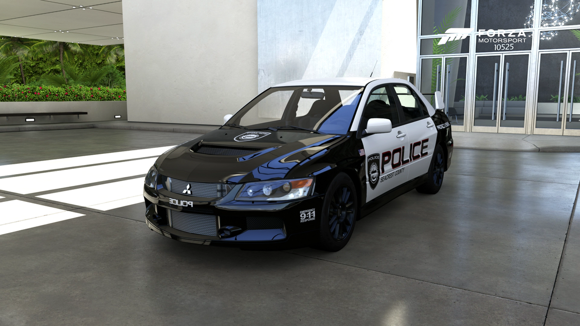 scpd 2006 mitsubishi lancer evo ix mr front by. Black Bedroom Furniture Sets. Home Design Ideas