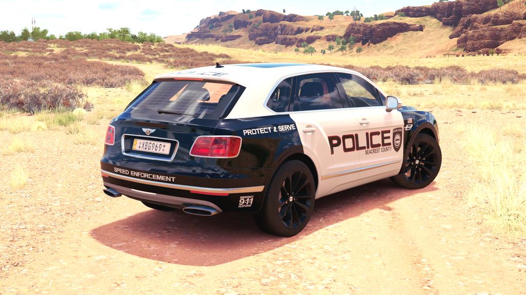 SCPD - 2016 Bentley Bentayga - Back by xboxgamer969 on DeviantArt