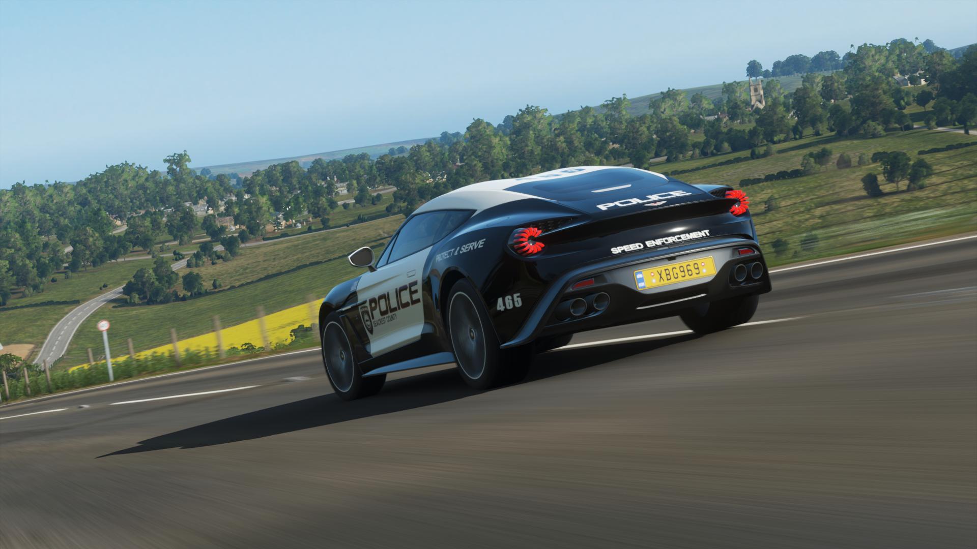 Scpd 2017 Aston Martin Vanquish Zagato Rear By Xboxgamer969 On Deviantart