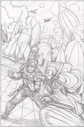 Flash Gordon vs Ming