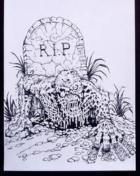 GRAVE SITUATION INKS 2016
