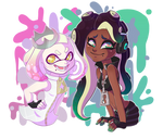 Pearl and Marina!!