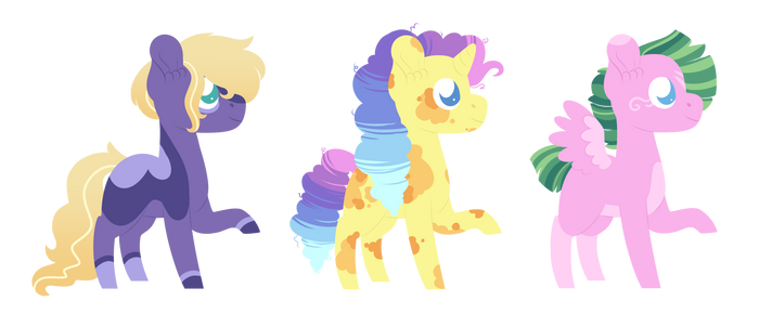 Lineless Themed Adopts 2