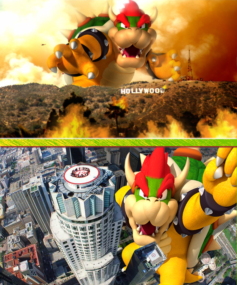 List Of Synonyms And Antonyms Of The Word: Giant Bowser