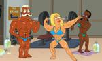 Francine the bodybuilder