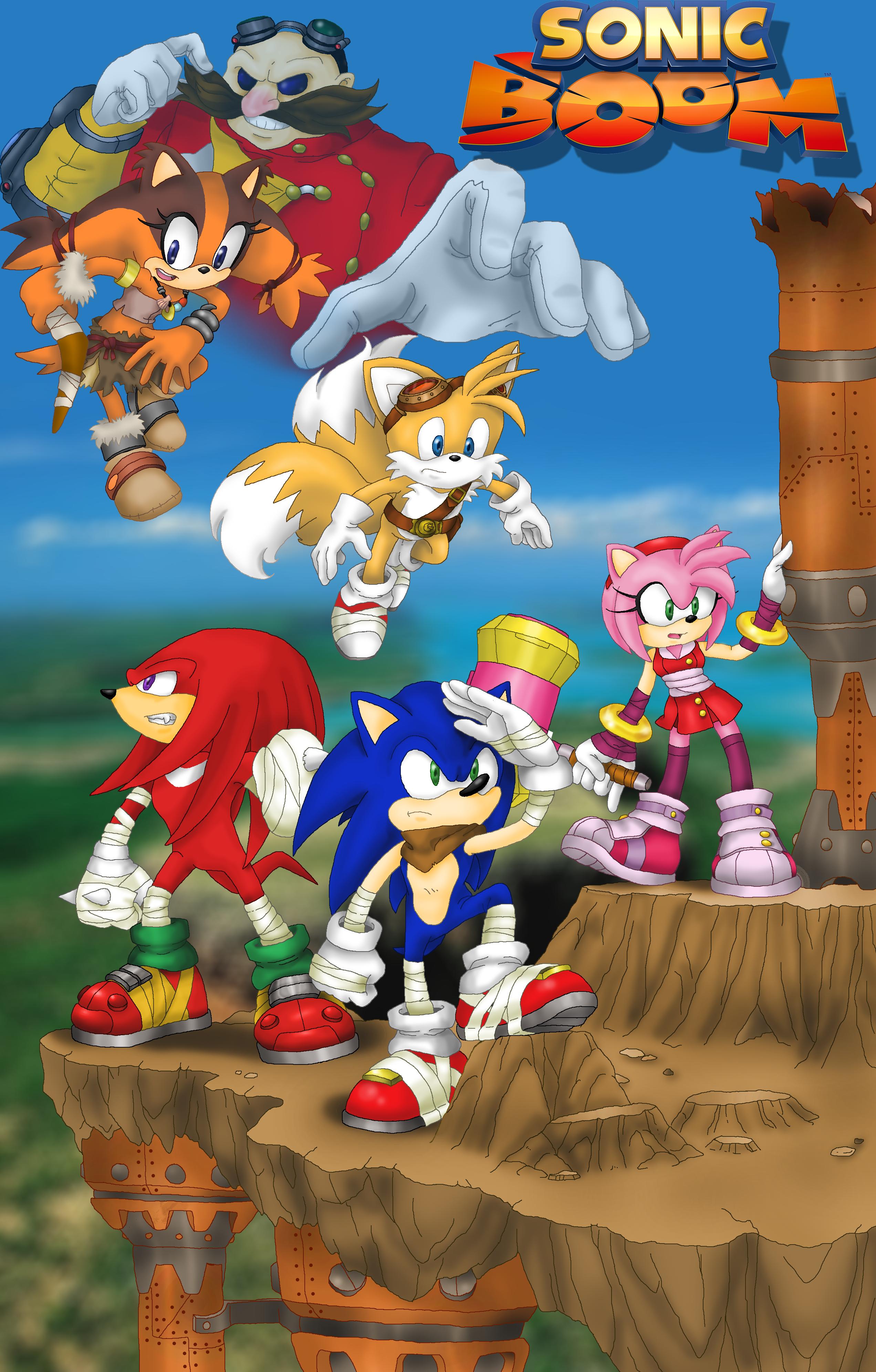 Sonic Boom by Zerbear333