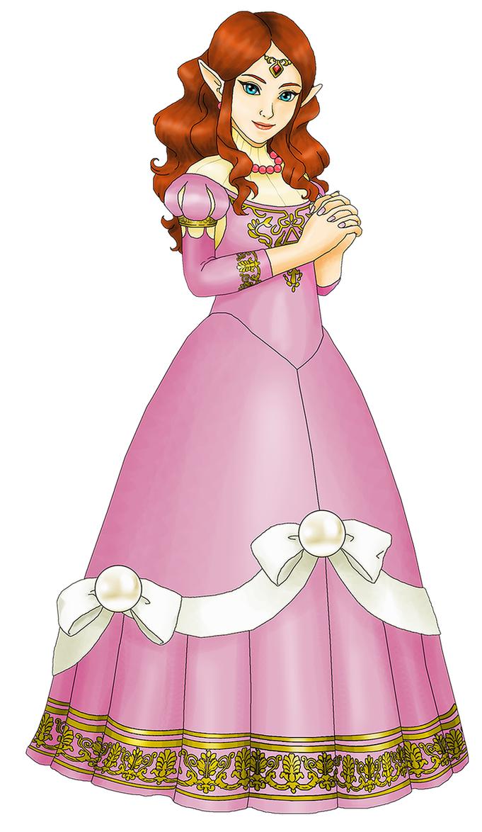 Original Princess Zelda By Zerbear333