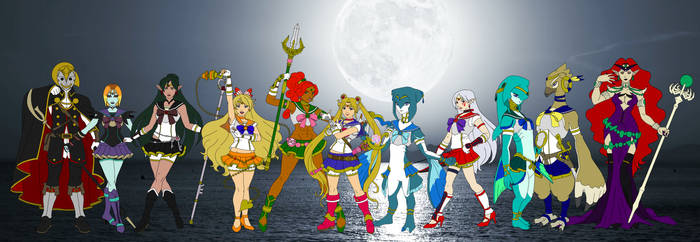 Sailor Guardians of Hyrule