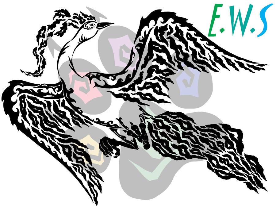 Moltres Tribal by ElementalFurs