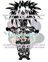 Tribal Skunk by ElementalFurs