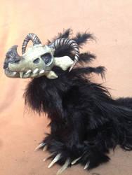 Little feathered demon by ElementalFurs