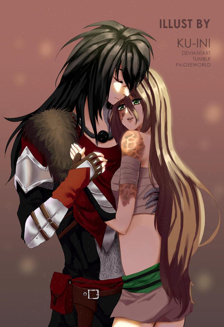 CM: Abalon and Aurora by ku-ini