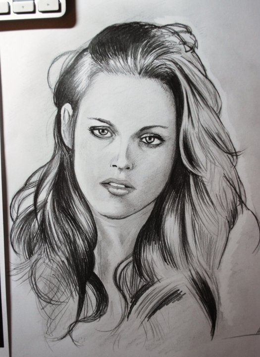 Bella WIP by harrynotlarry