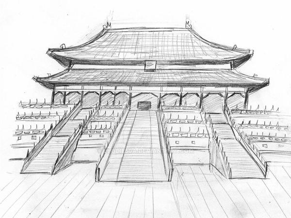 coloring pages ancient chinese houses - photo#12